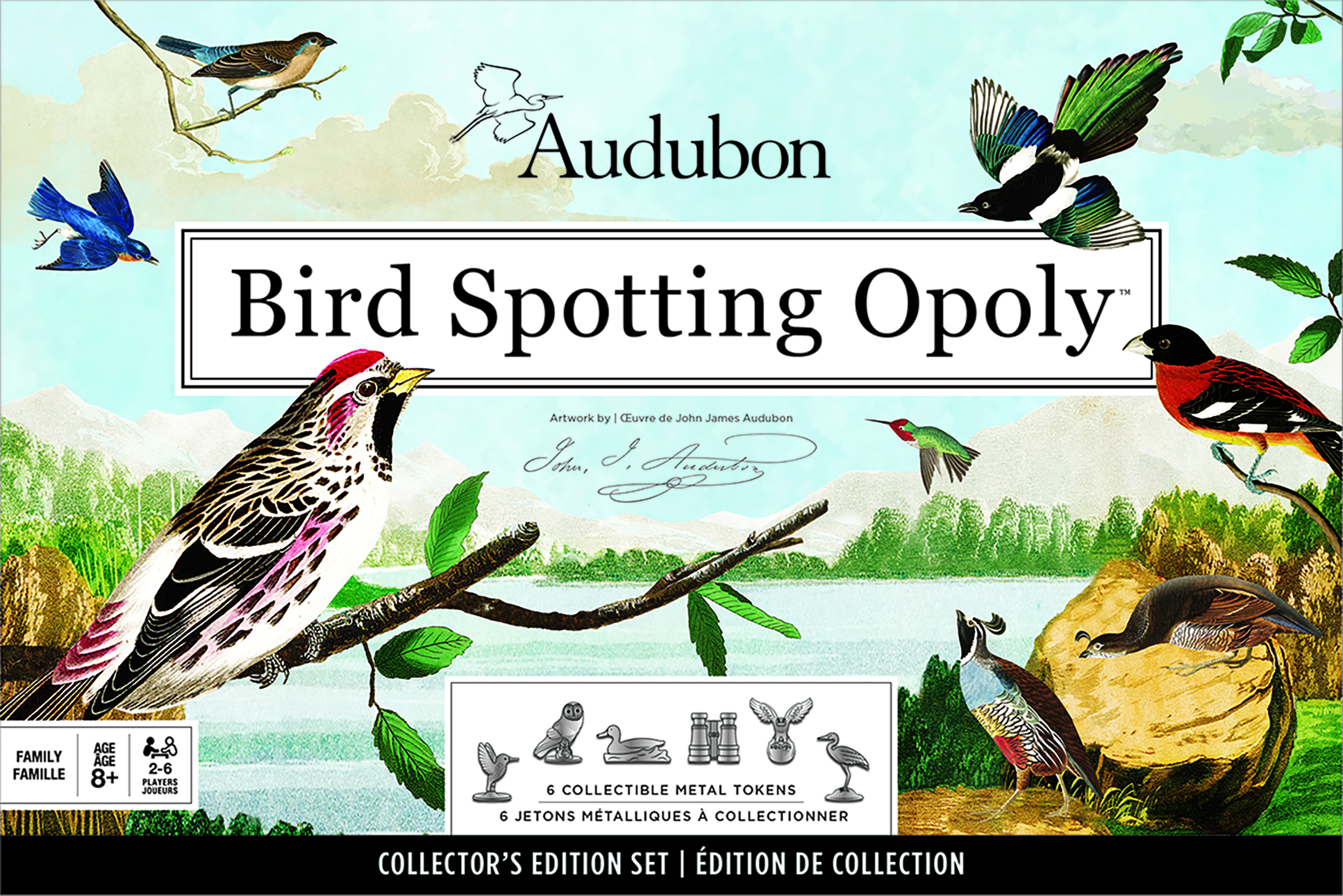 Audubon Bird Spotting Opoly