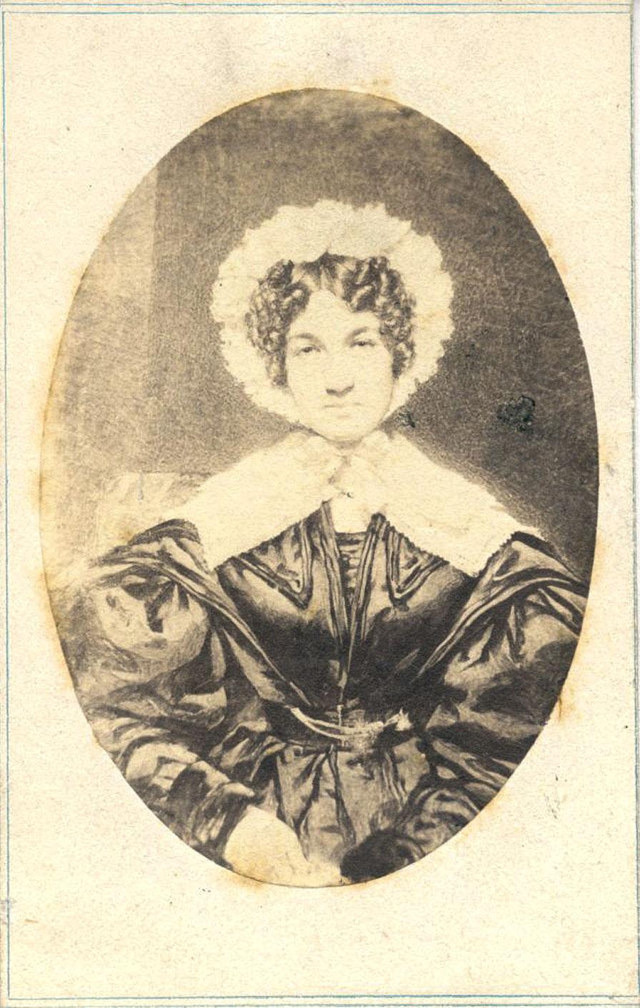 Lucy Bakewell Audubon, 1835. F. Cruikshank/Public Domain