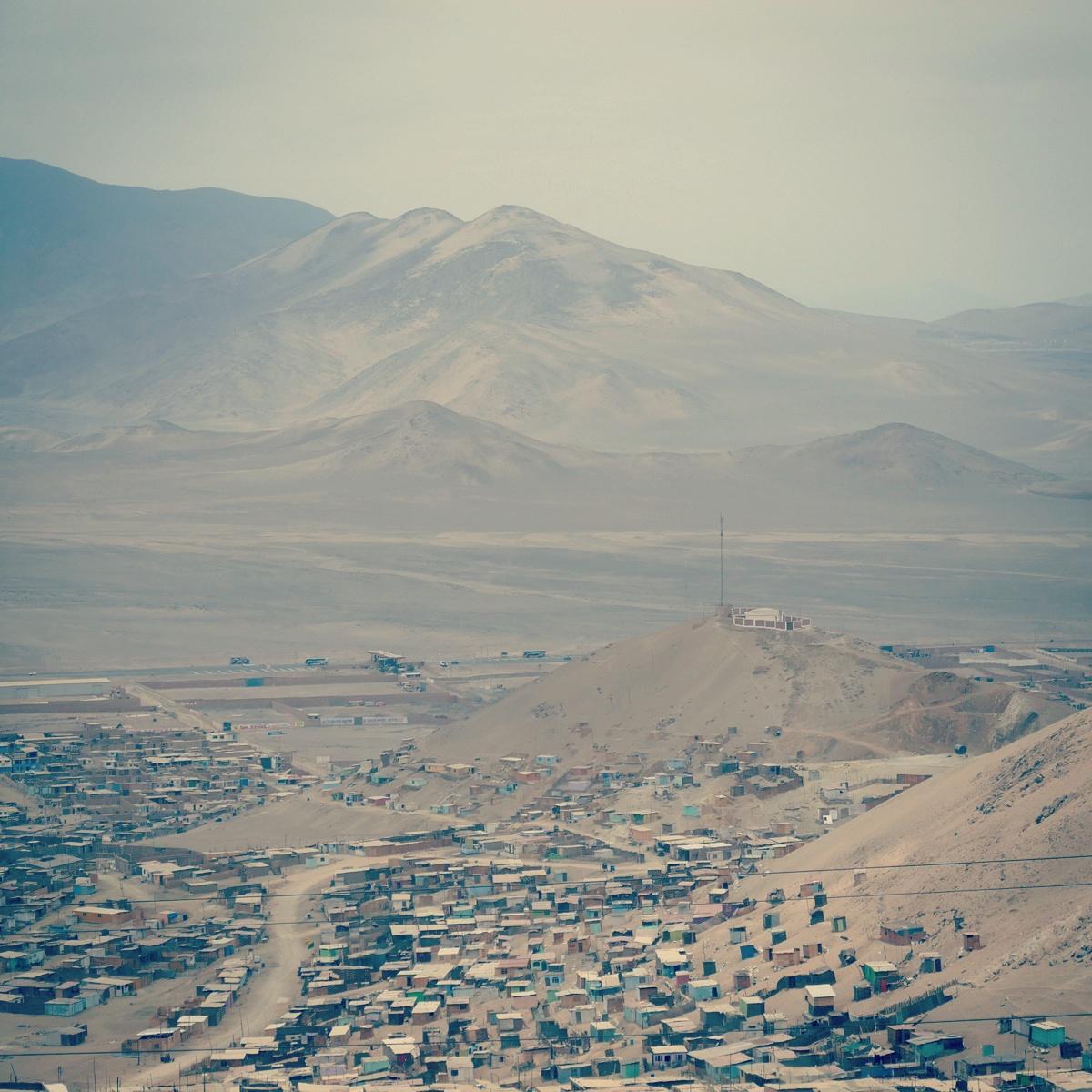 Lima's outer suburbs. Noah Strycker