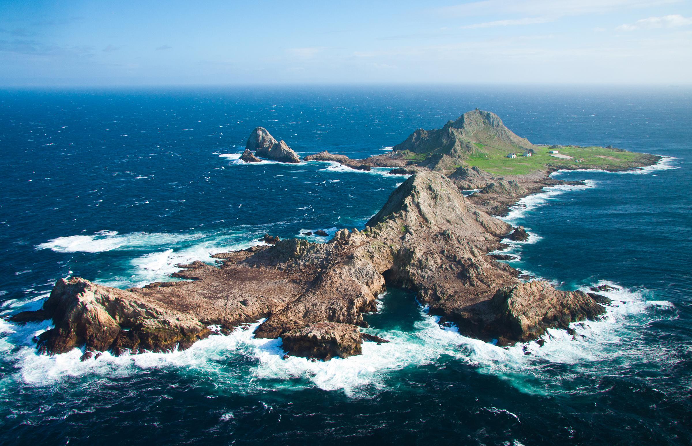 Farallon Islands. Erik Oberg/Island Conservation