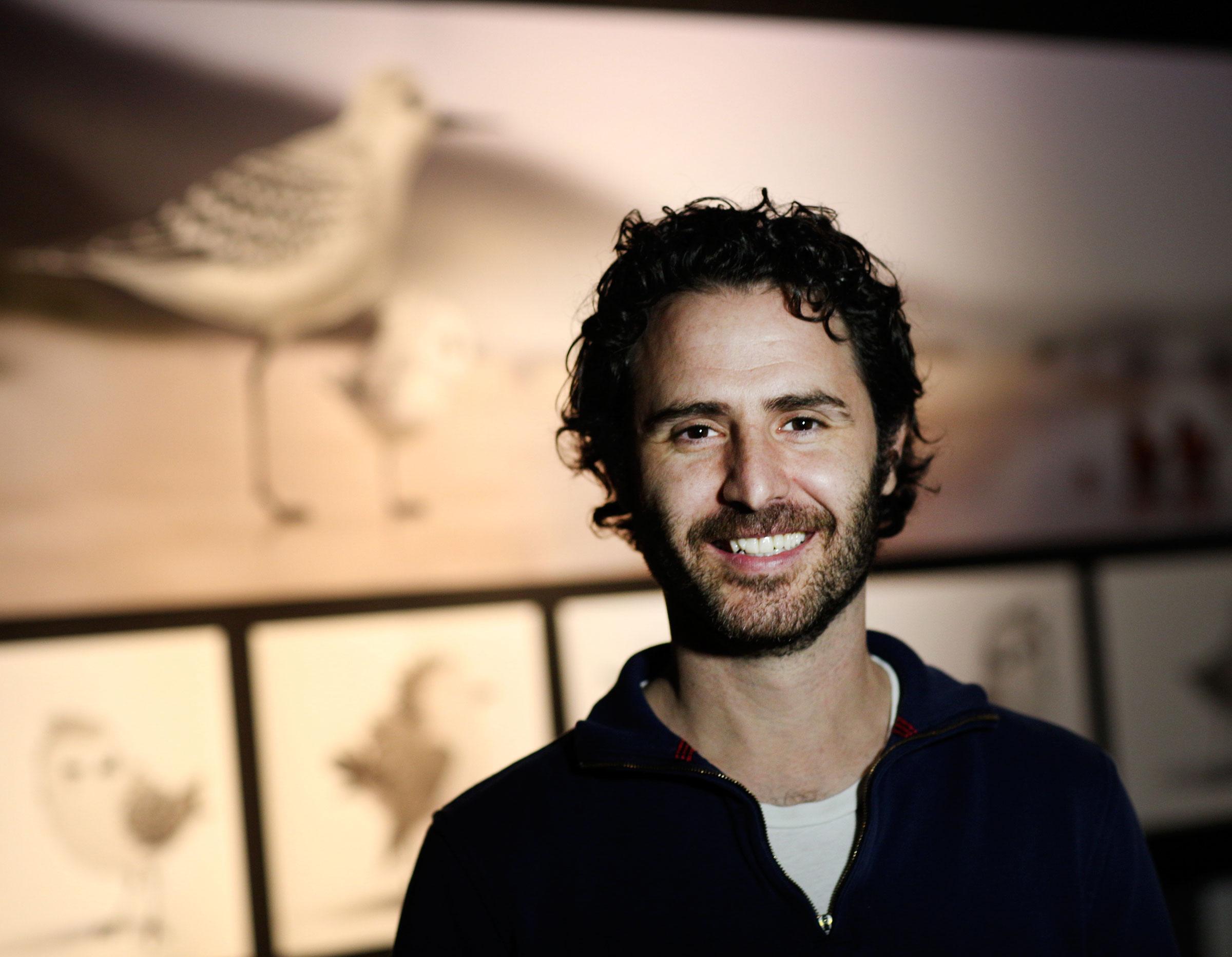 "Alan Barillaro, director of ""Piper,"" at Pixar Animation Studios in Emeryville, California. Deborah Coleman/Disney•Pixar"