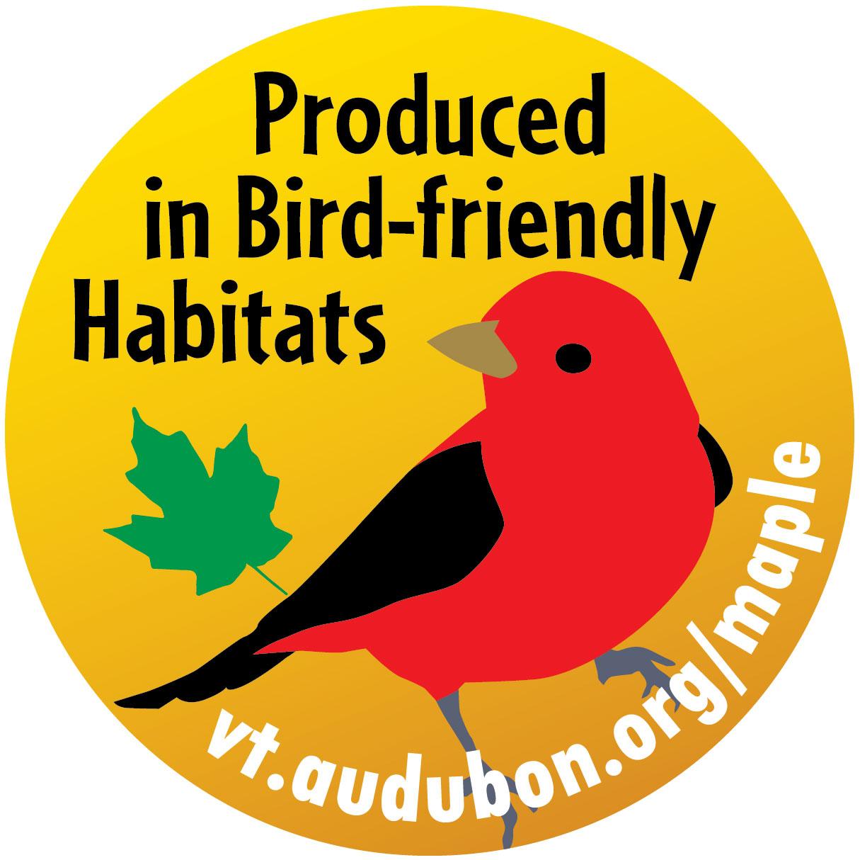 Audubon VT's label.