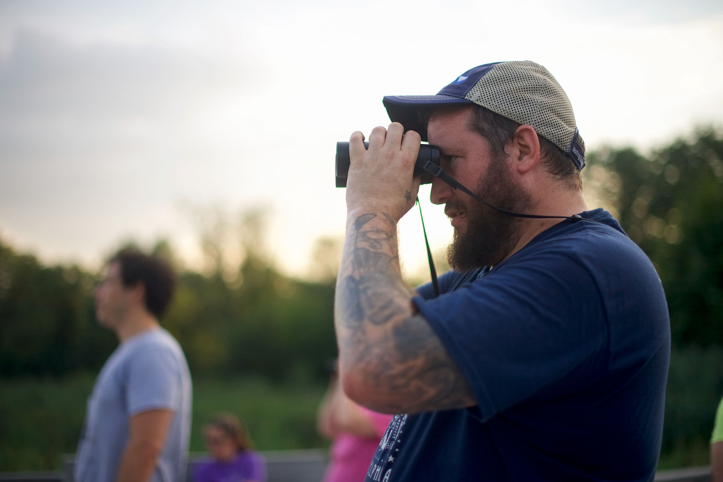 The BirdPhilly program, which reaches punks and non-punks alike, has helped Croasdale foster a love of ornithology in the younger residents of the city. Mark Makela
