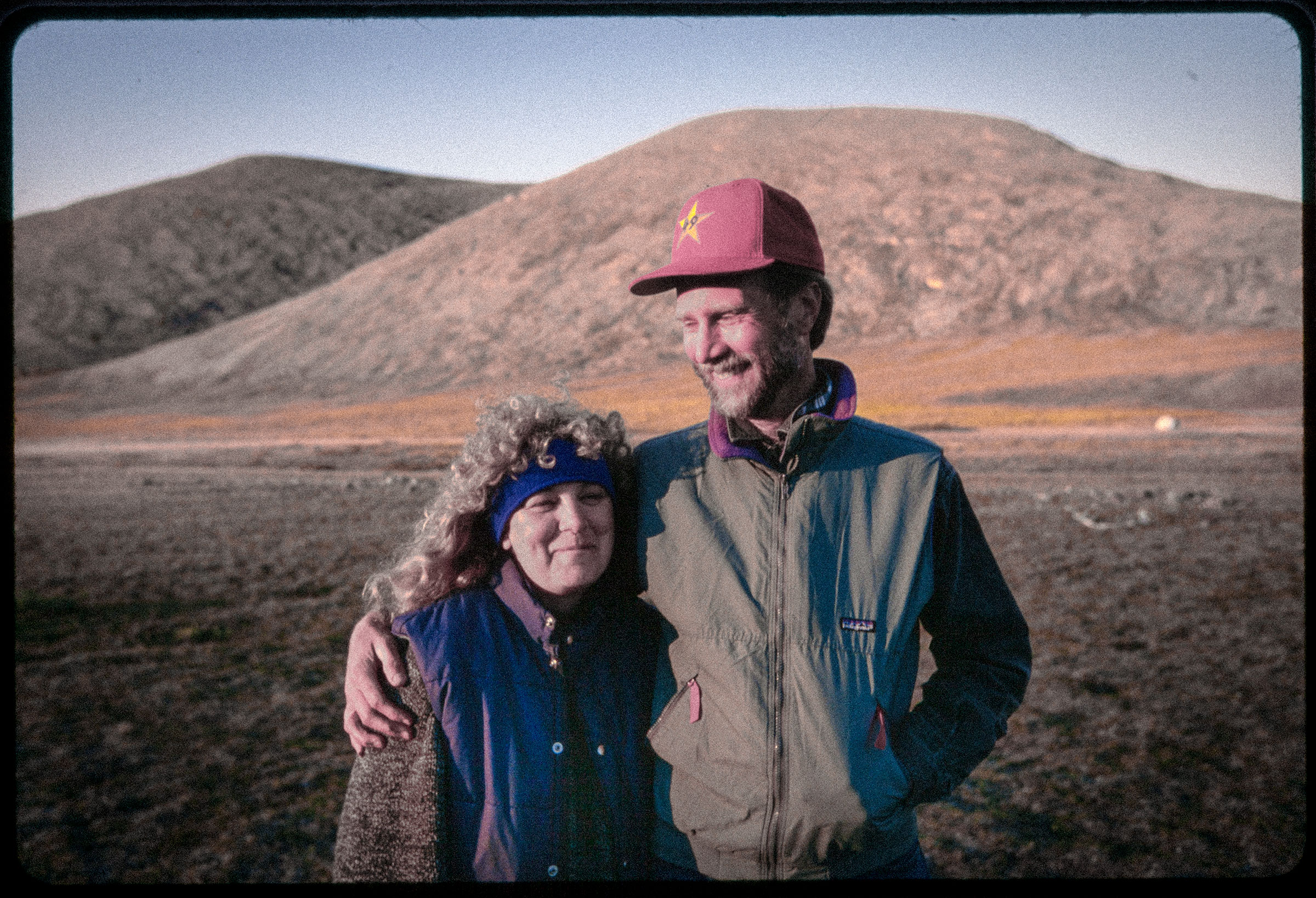 Adams and Cindy in the Arctic National Wildlife Refuge, 1999. Dennis Keeley