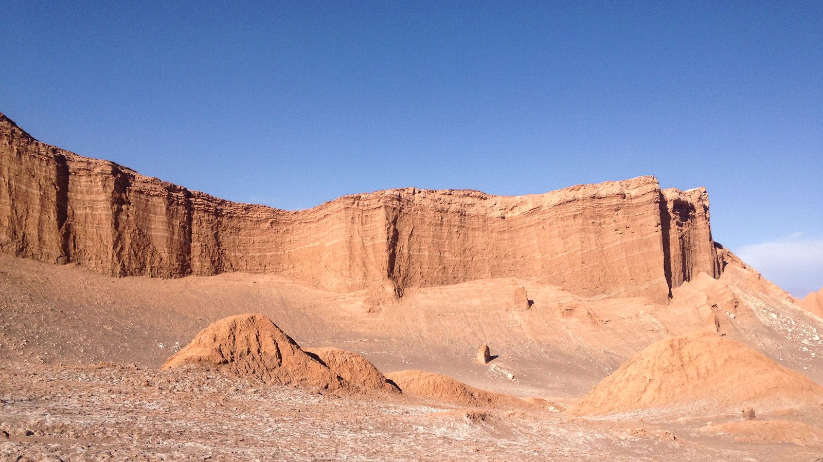 Since Adams left Alaska, deserts—like Chile's Atacama, shown here—have provided new inspiration. John Luther Adams
