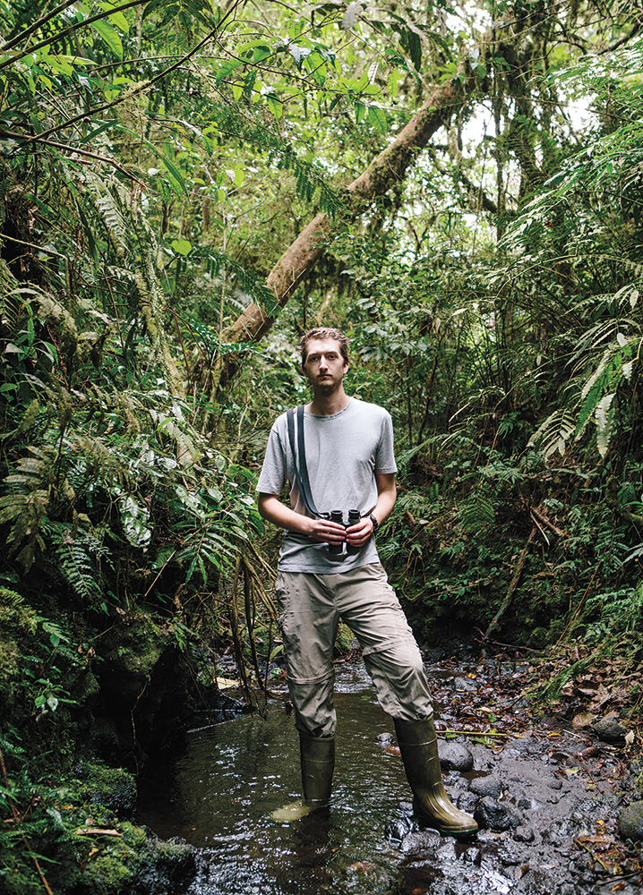 Jacob Cooper will use data collected during the expedition for his Ph.D. studies at the University of Chicago and the Field Museum. Tristan Spinkski