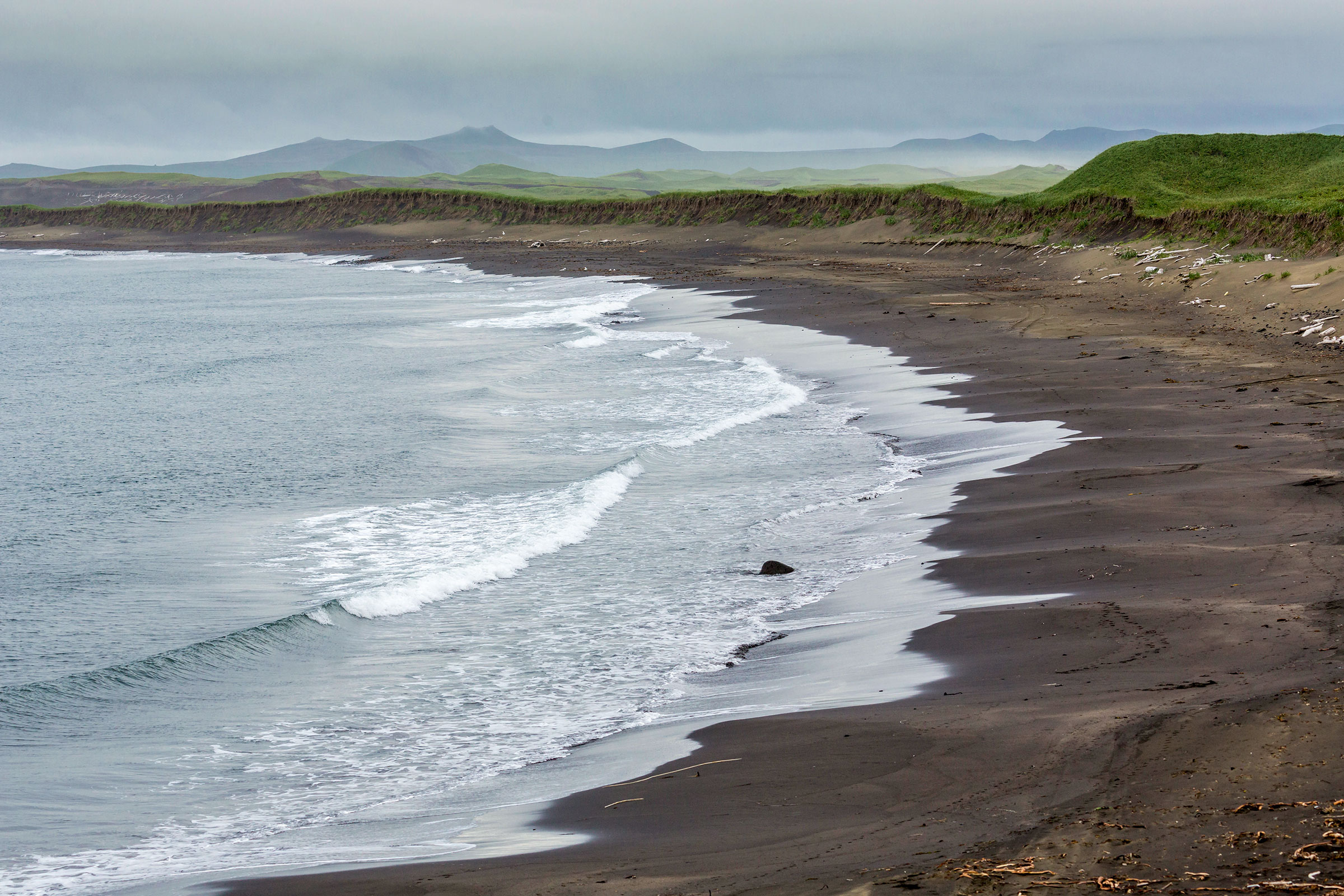 Bering Sea along the coastline of St. Paul Island, Alaska. Photo: Ray Bulson/Alamy