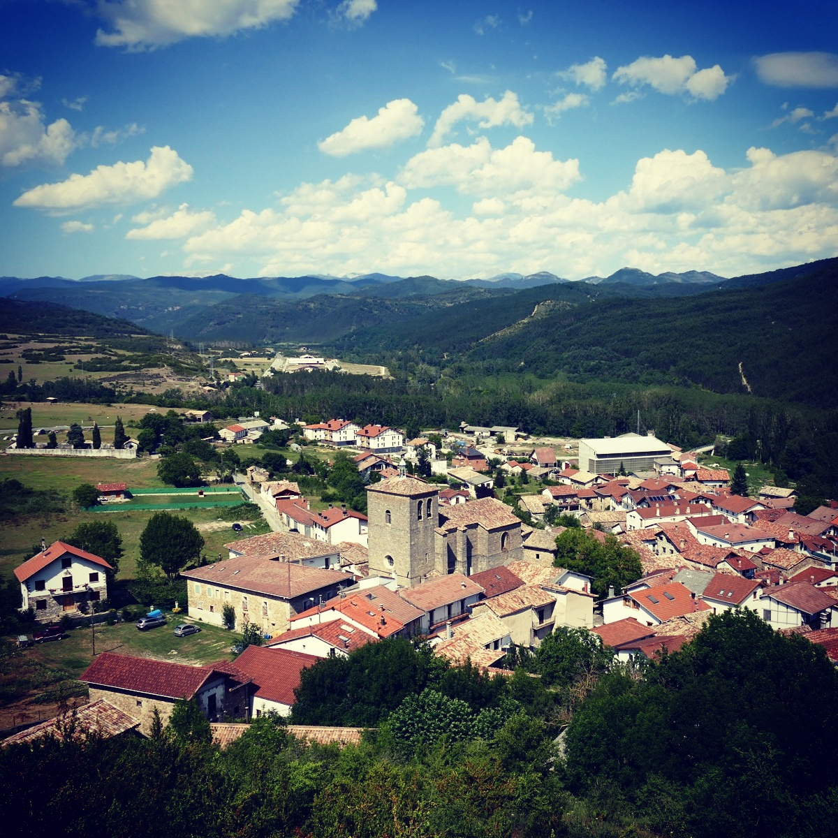 A postcard-perfect alpine village in the Spanish Pyrenees. Noah Strycker