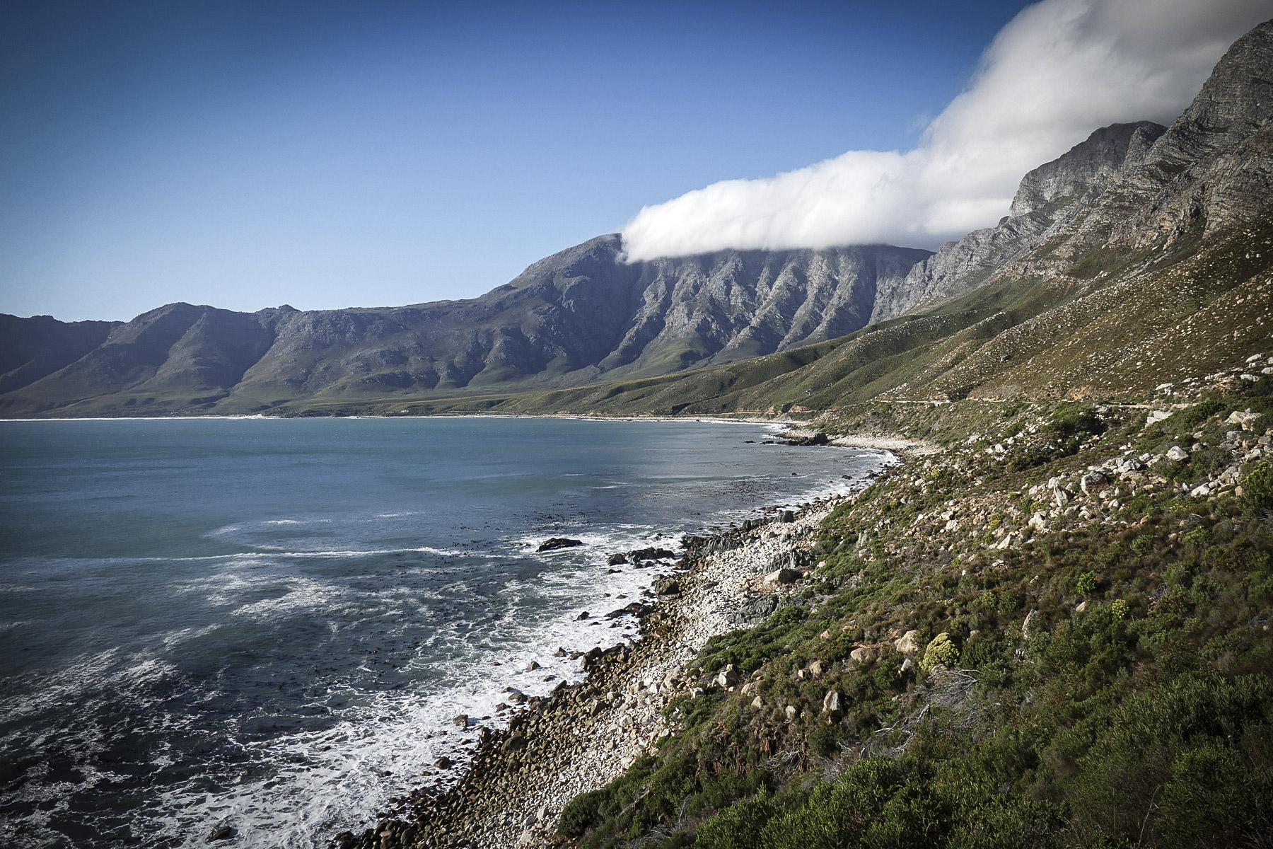 A view of False Bay, one of Cape Town's most scenic spots. Noah Strycker