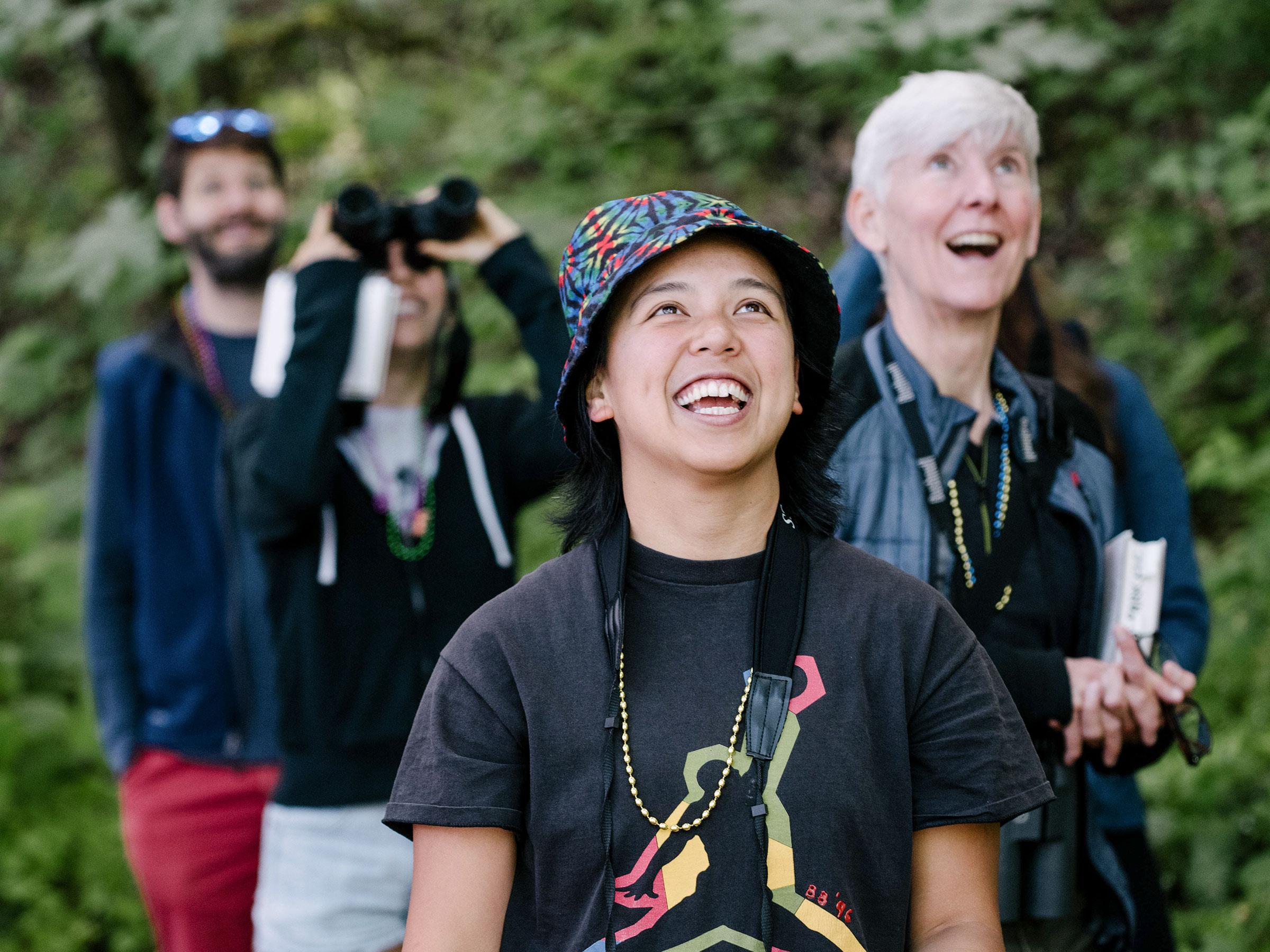 Let's Go Birding Together event in Seattle. Grant Hindsley