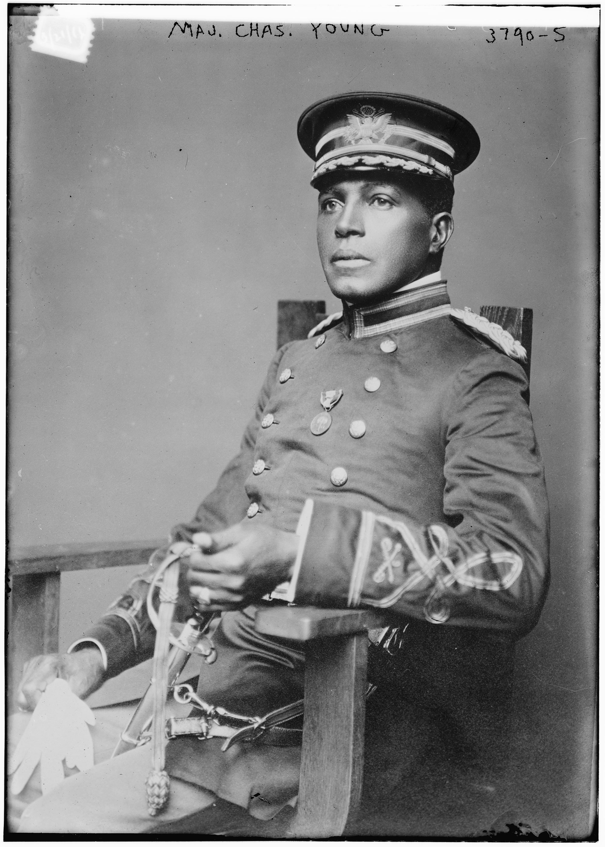 Charles Young, 1916. Library of Congress