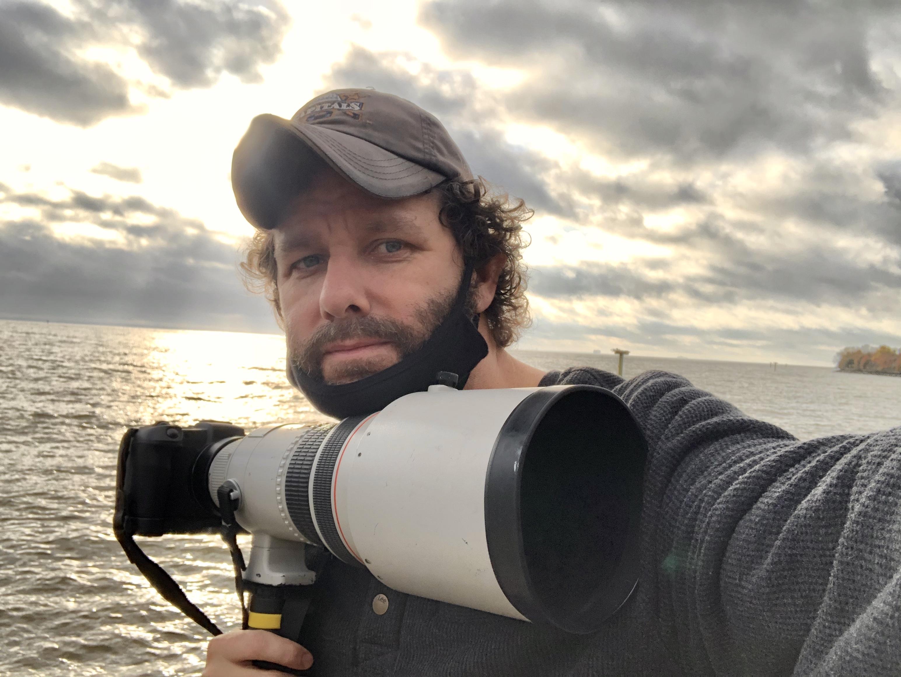 The photographer, Joshua McKerrow. Courtesy of Joshua McKerrow