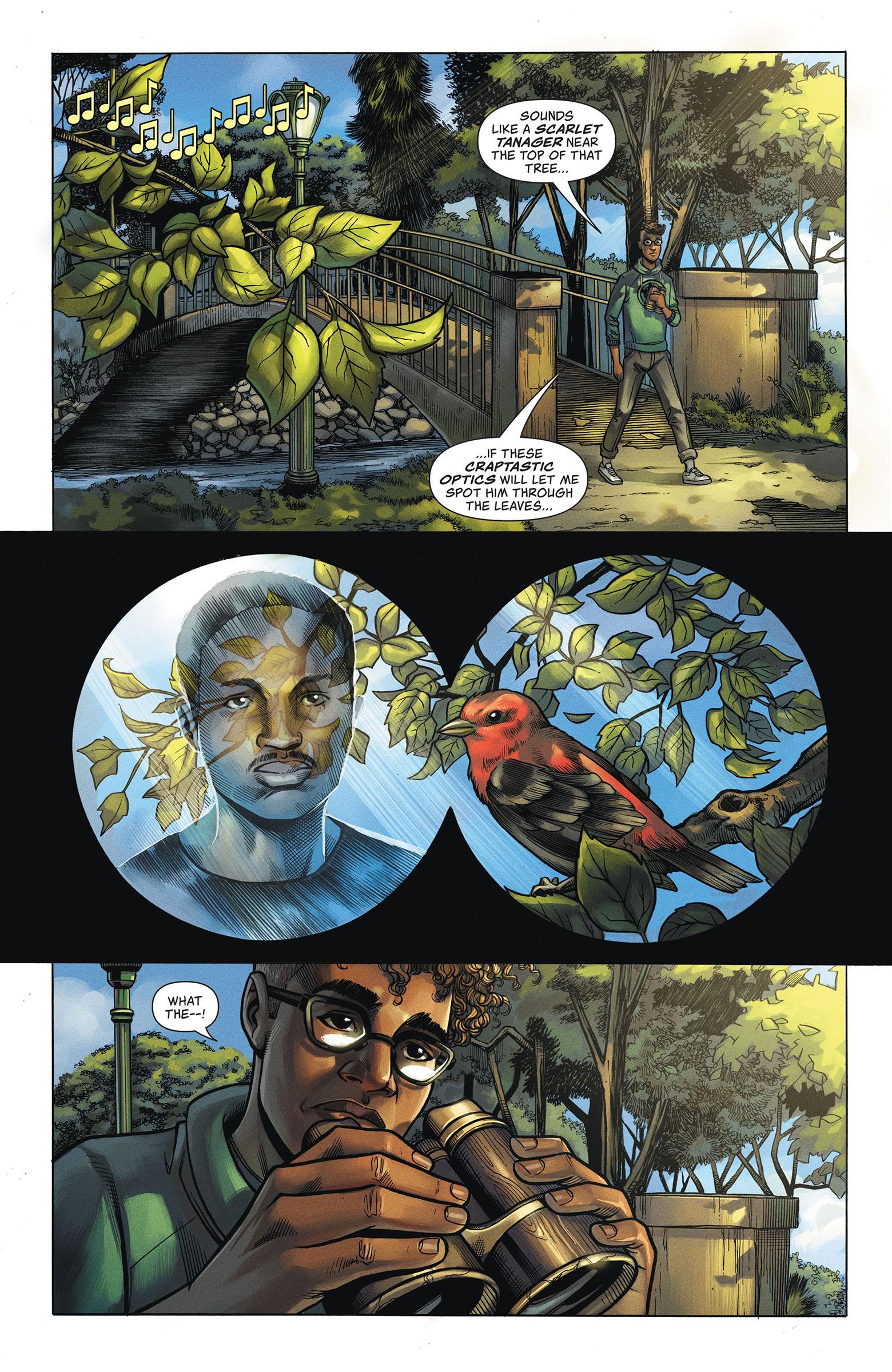 Comic: Courtesy of DC