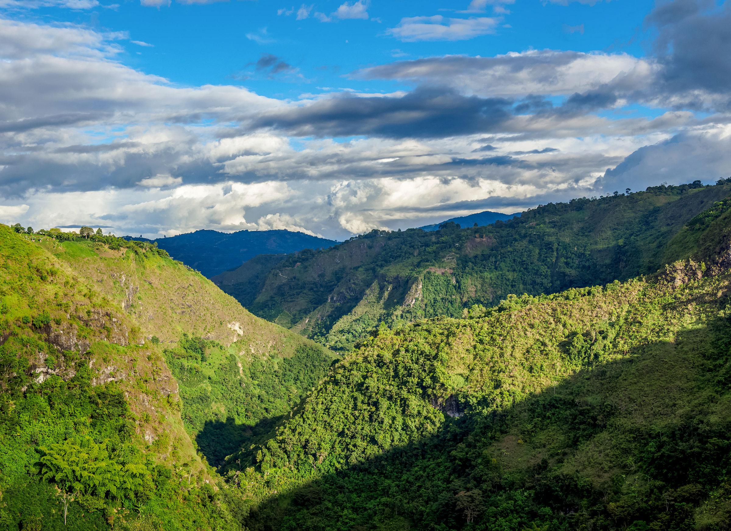 Magdalena River Valley, Colombia. Karol Kozlowski/Alamy