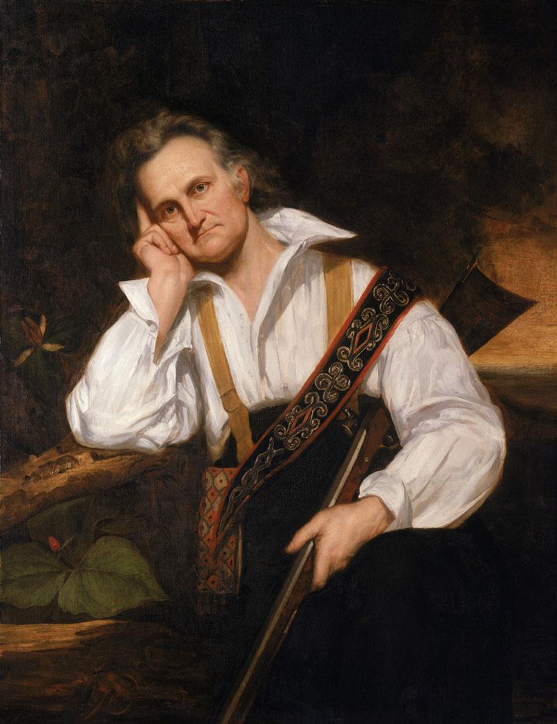 John James Audubon. Painting: George P. A. Healy; Museum of Science, Boston