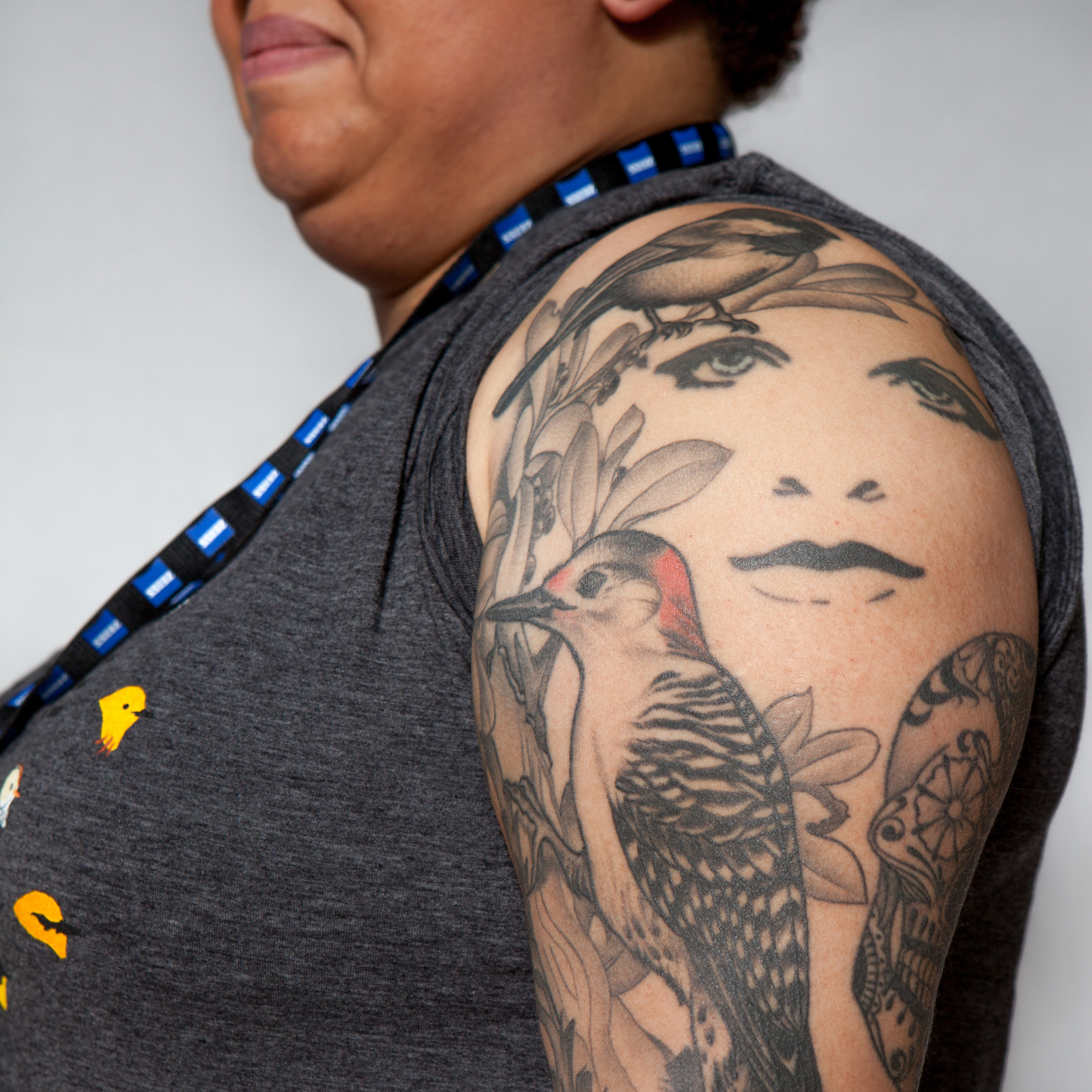 Tattoo that won first place from the 2014 Biggest Week Bird Tattoo Contest. Camilla Cerea/Audubon