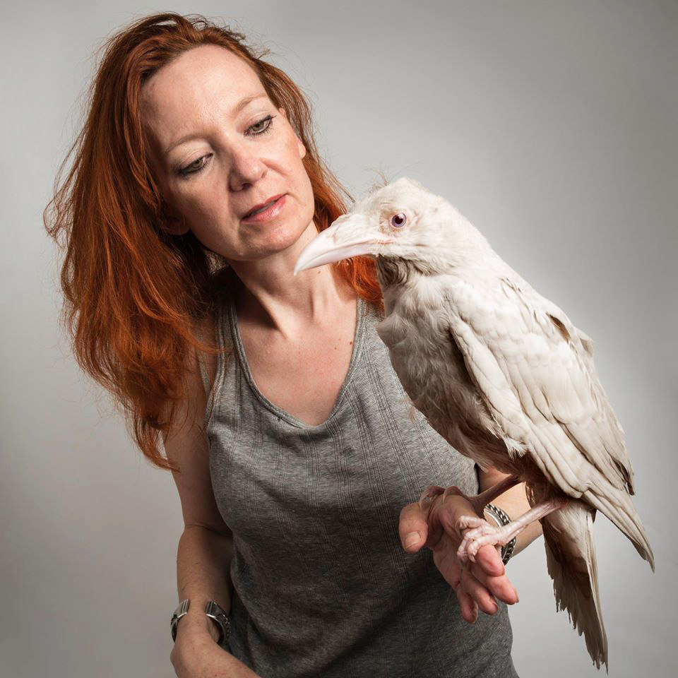 Madena Bennett was Pearl's caretaker ever since the rare bird was discovered by the California Wildlife Center. Devlin Gandy