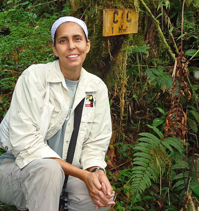 Rosabel Miro, executive director of Panama Audubon Society. Courtesy of Rosabel Miro