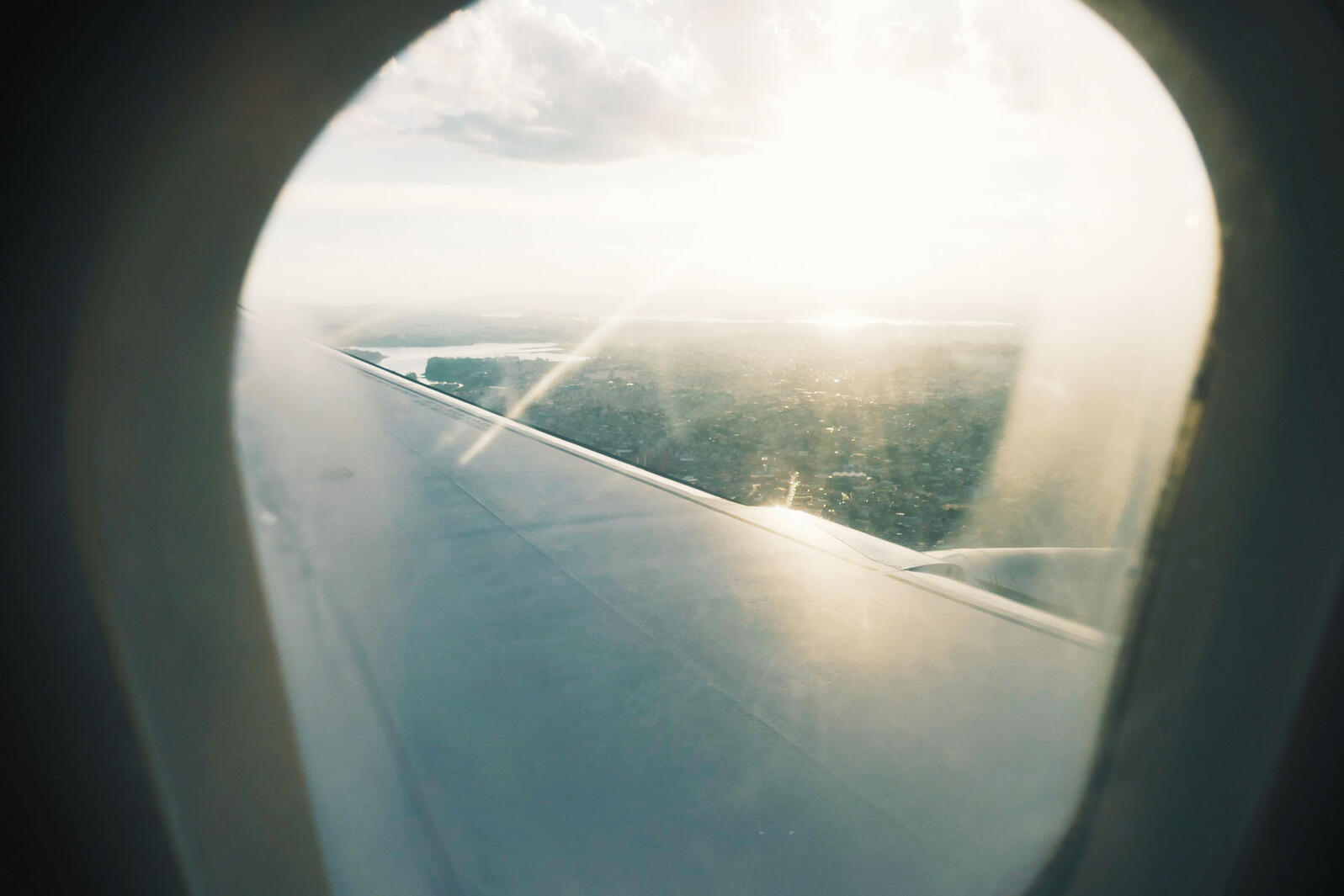 Plane-window sunset over Sao Paulo - and onwards to a new part of South America tomorrow! Noah Strycker