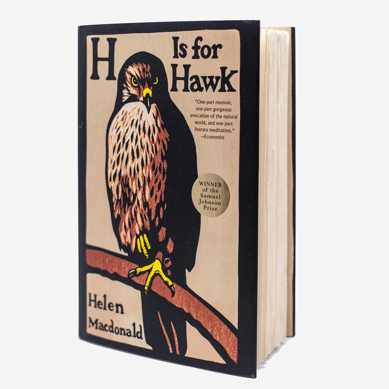 H is for Hawk by Helen Macdonald (Grove Press). Camilla Cerea/National Audubon Society