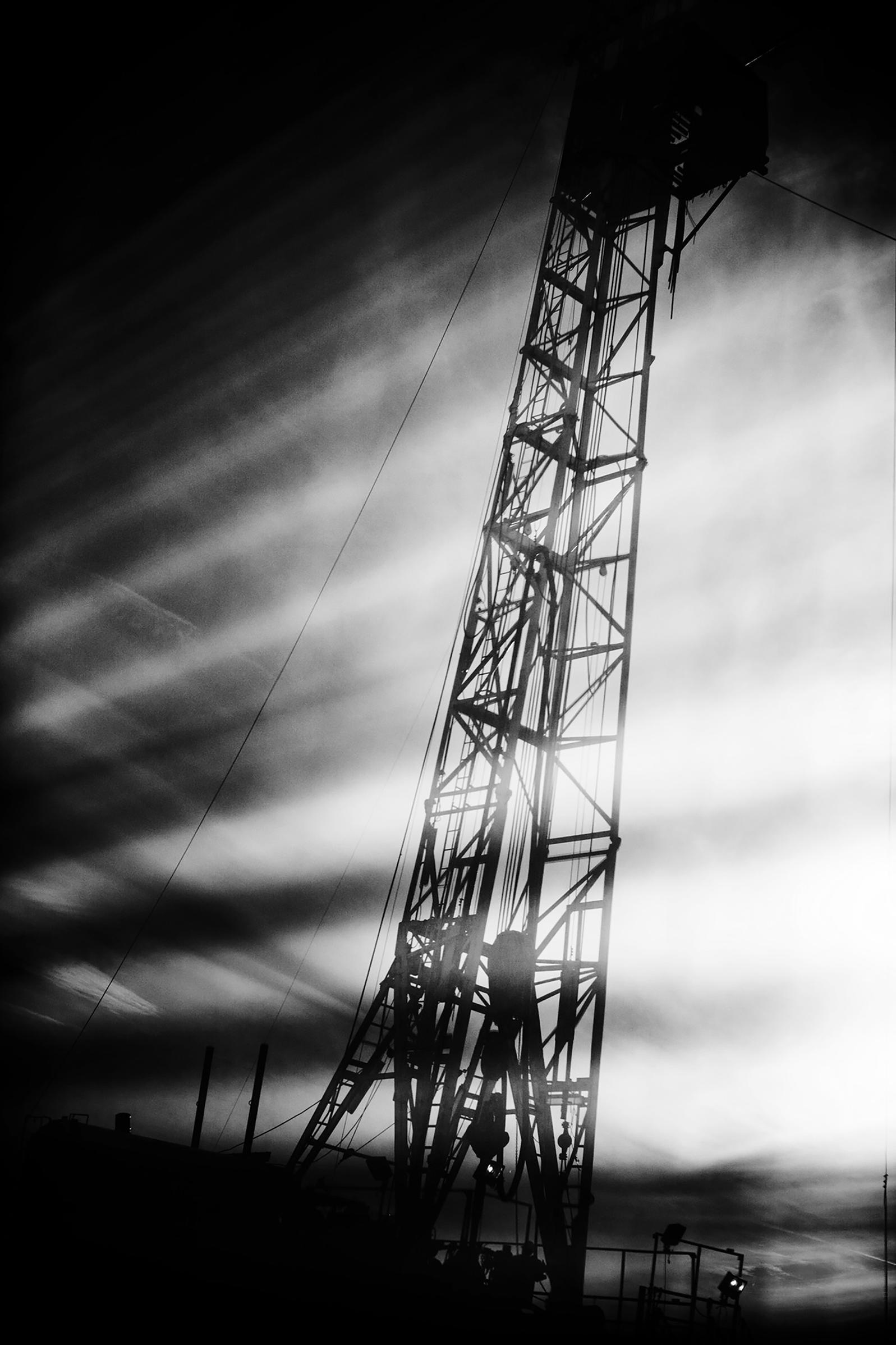 McCutchin Petroleum Corporation drills a horizontal well in Wise County, Texas, just one of the 145,000 gas wells to go in across the country since 2000. Jared Moossy/Redux.