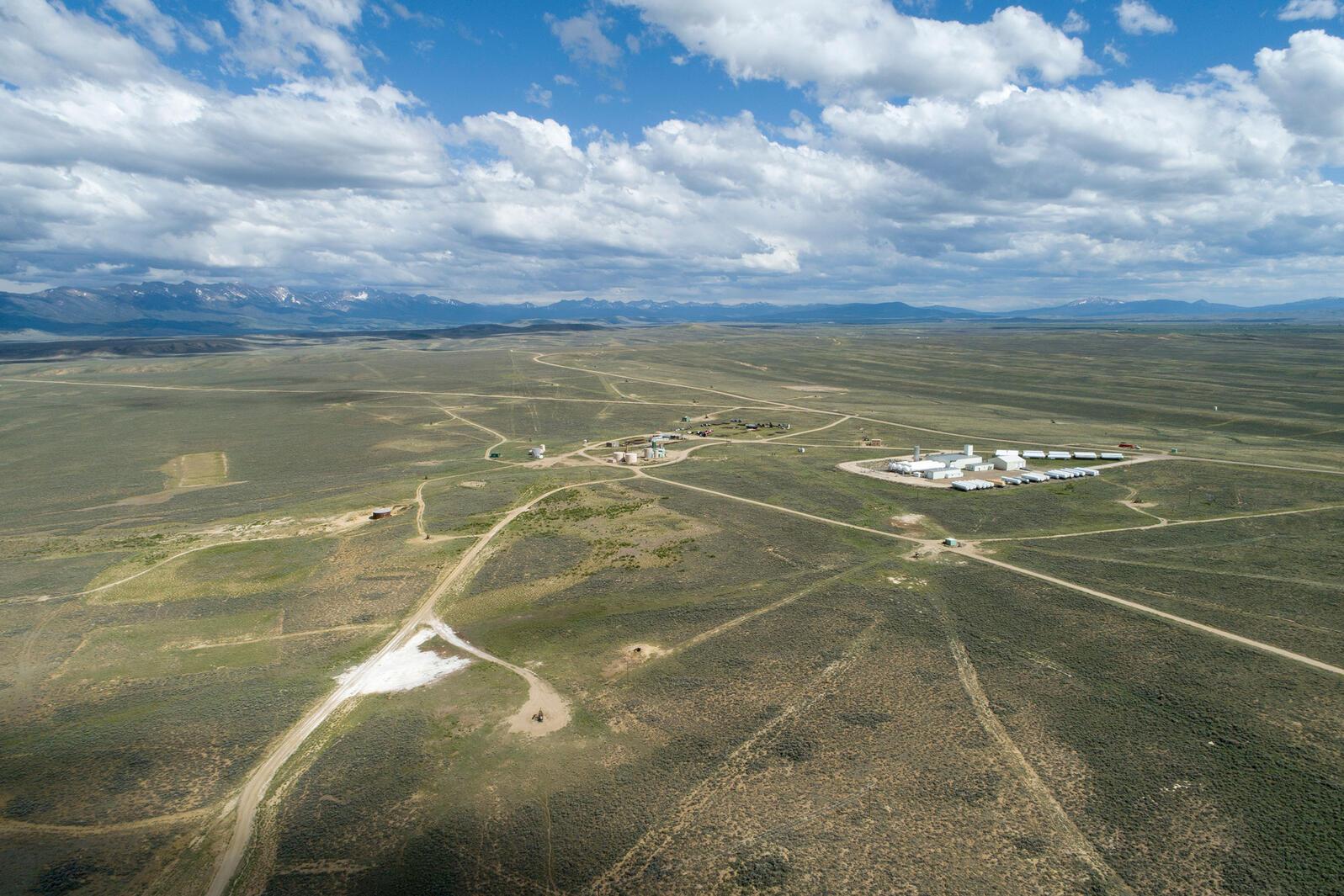 BLM-managed oil field in Jackson County, Colorado. Evan Barrientos/Audubon Rockies