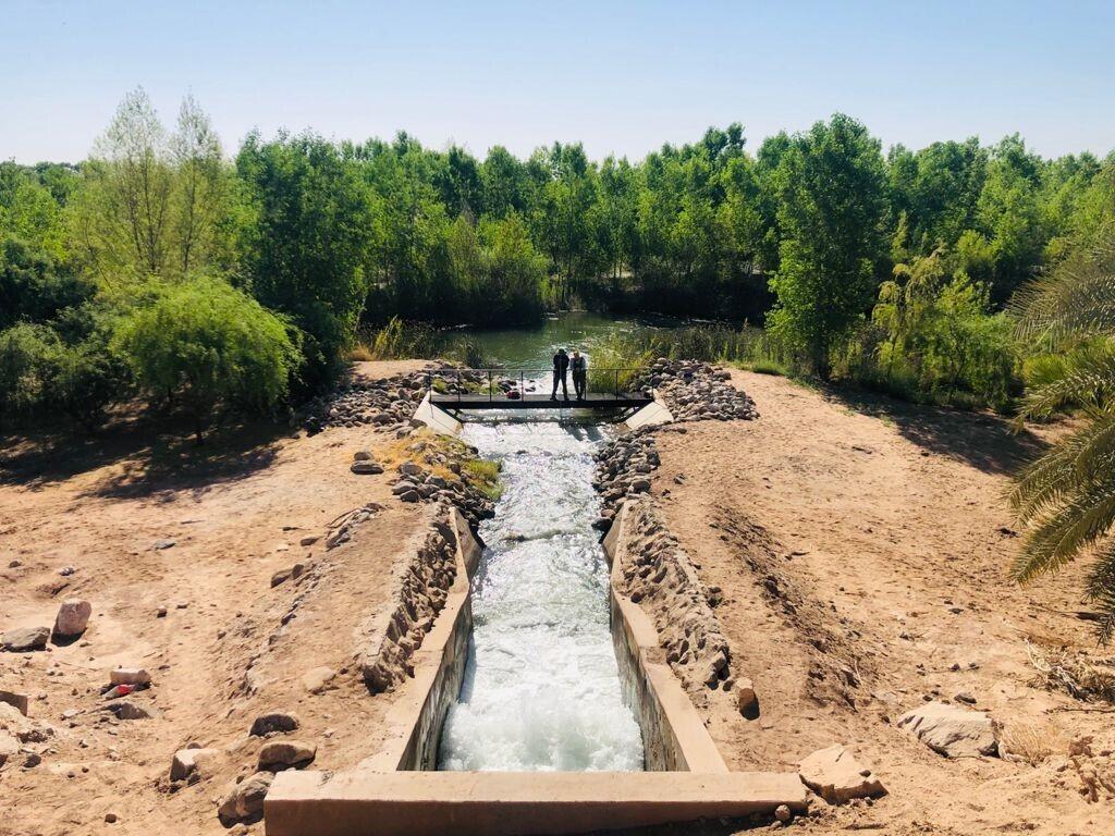 Entrega de agua para el medio ambiente en el delta del río Colorado, 3 de mayo de 2021. Adrián Salcedo, Restauremos el Colorado