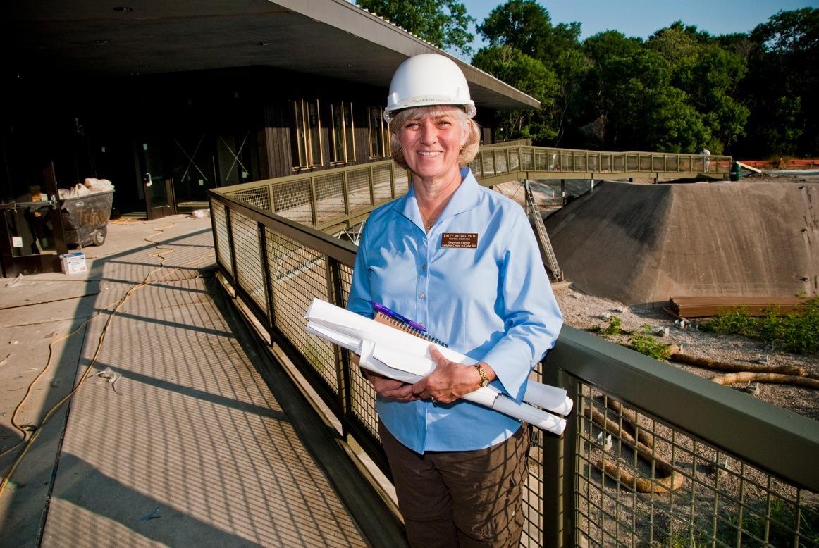 Dr. Patty McGill, Director of new Dogwood Audubon Center near Dallas