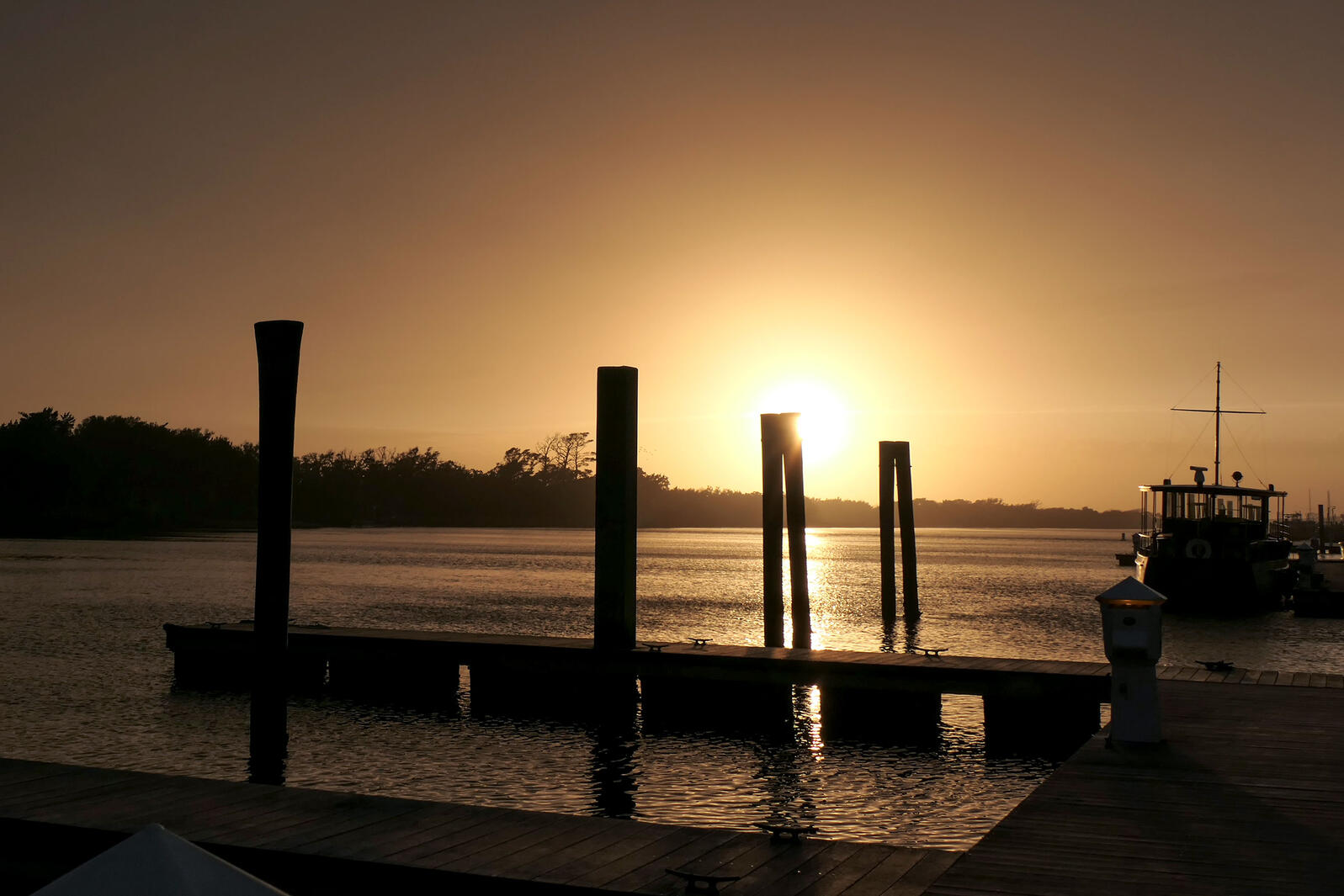 The docks in Beaufort, North Carolina, where the author's adventure began. Megan Mayhew Bergman