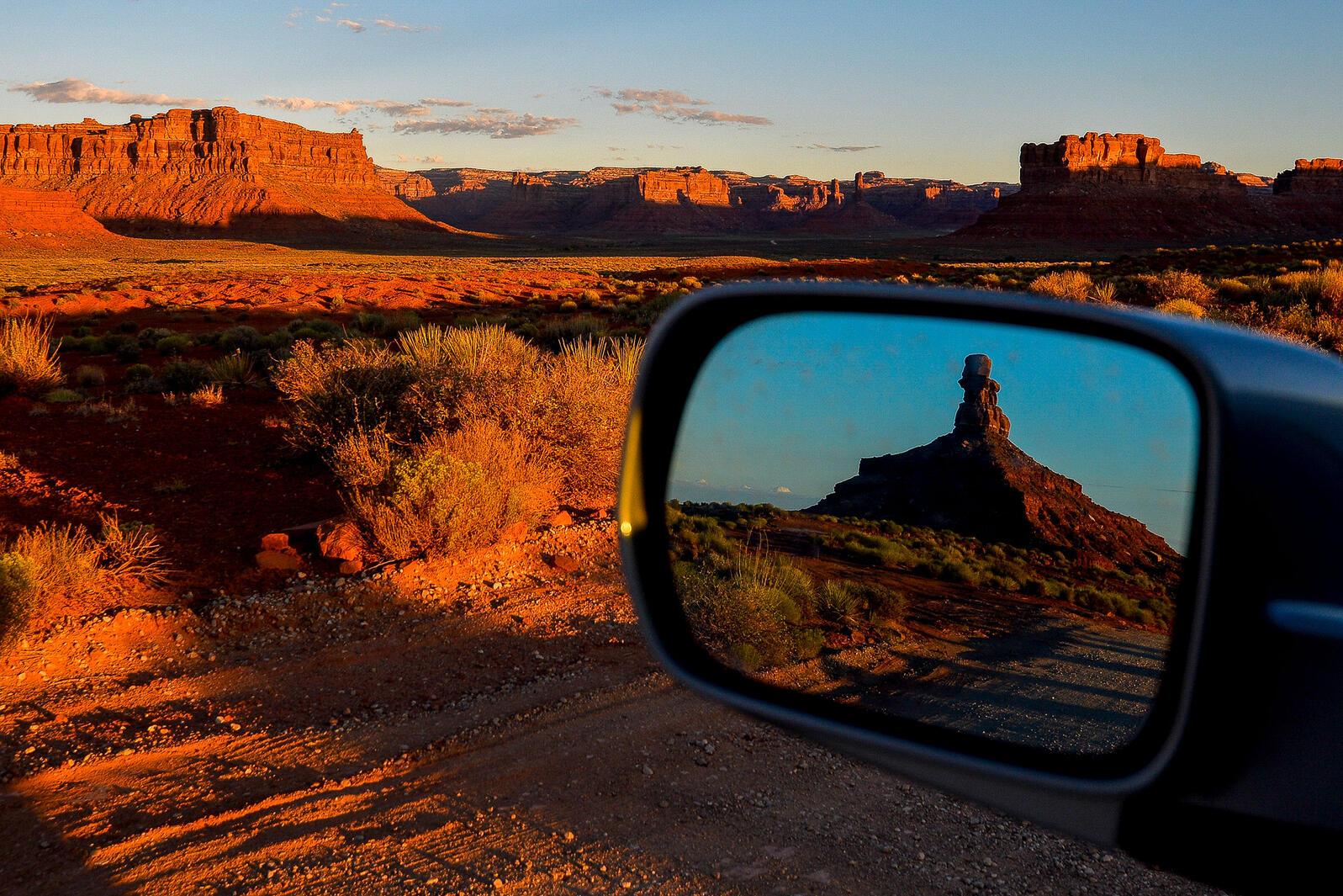 The sun rises over the Valley of The Gods inside Bears Ears National Monument, Utah. Alex Goodlett/The New York Times/Redux