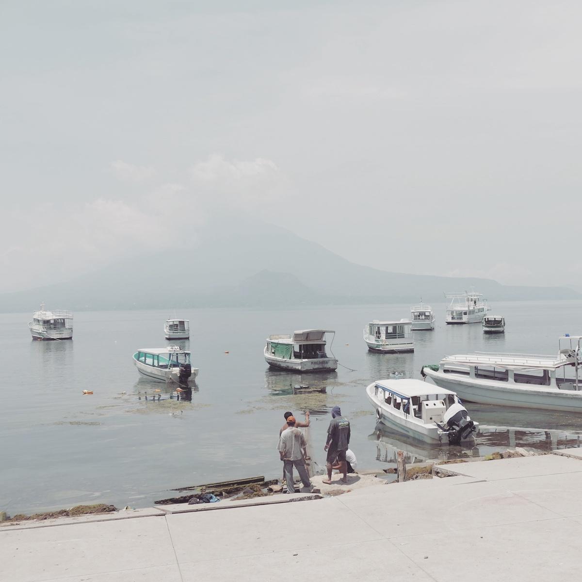 Lake Atitlan, former home of the Atitlan Grebe. Noah Strycker