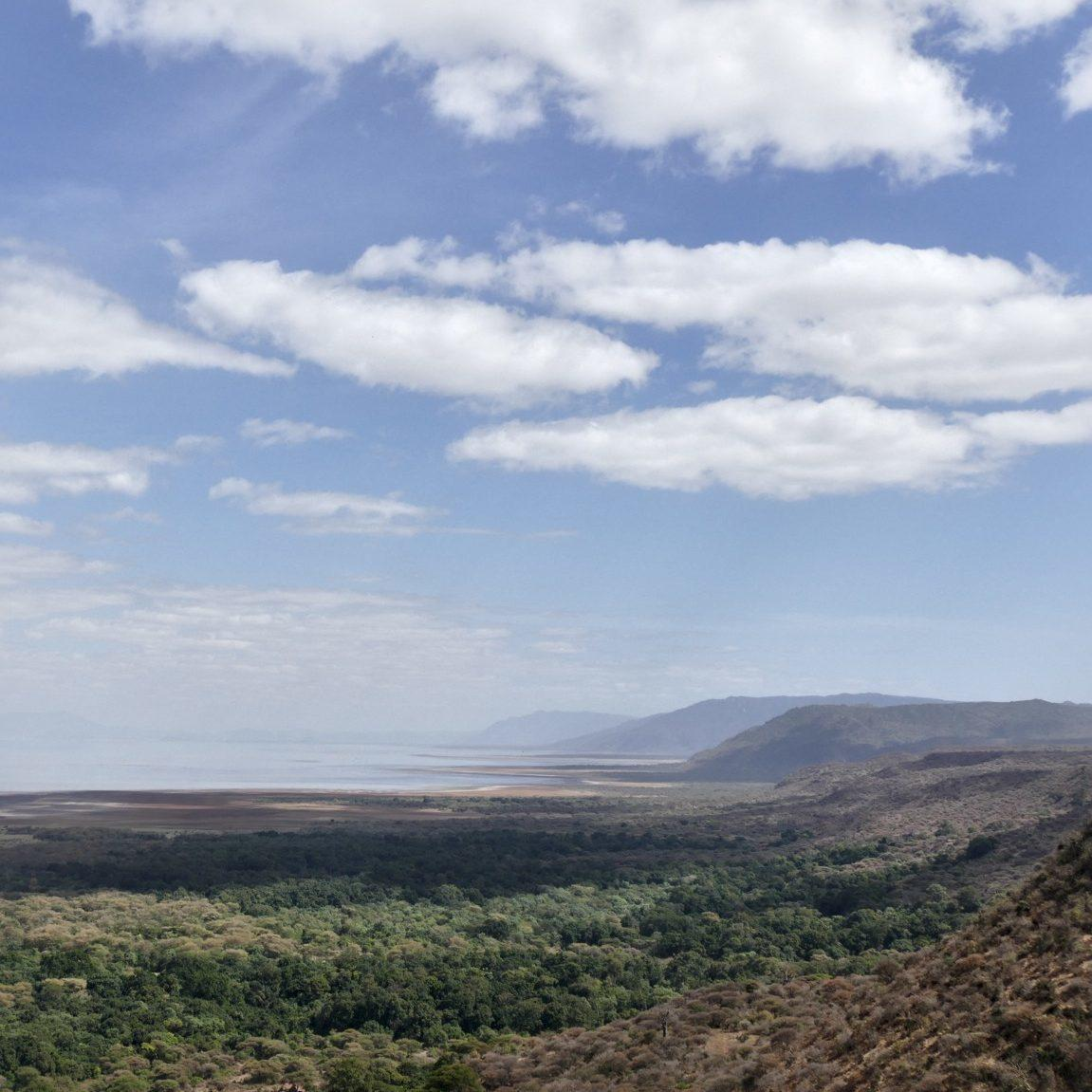 A view of Tanzania's Rift Valley en route to Arusha.