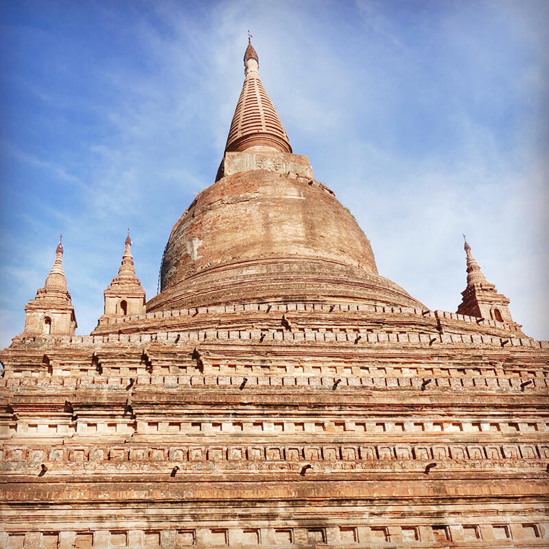 Most of the temples around Bagan are nearly 1,000 years old. Noah Strycker