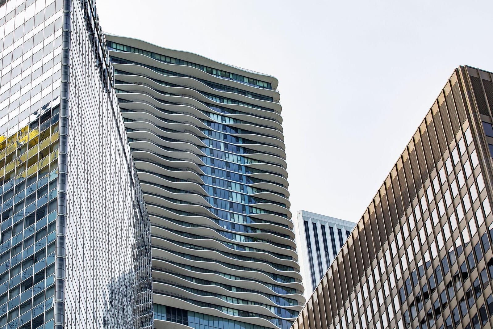 The Aqua Tower in Chicago. Cecilia Colussi/Alamy