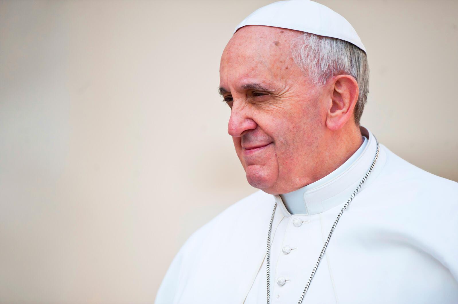 Pope Francis. Mazur/catholicnews.org.uk