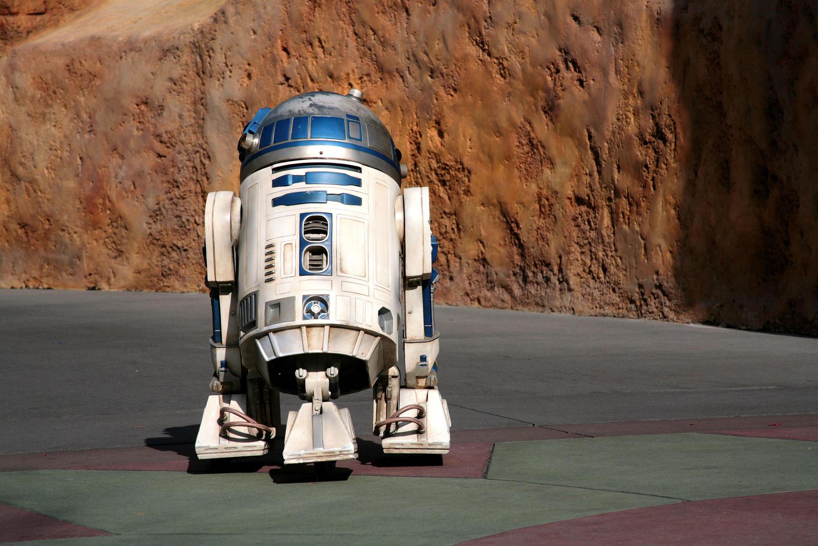 R2-D2. JJM Stock Photography/Alamy