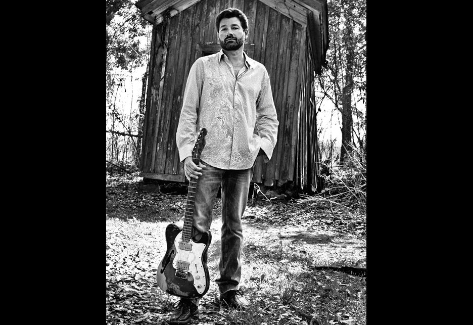 Blues guitarist and founder ofVoice of the Wetlands, Tab Benoit.1 Jerry Moran