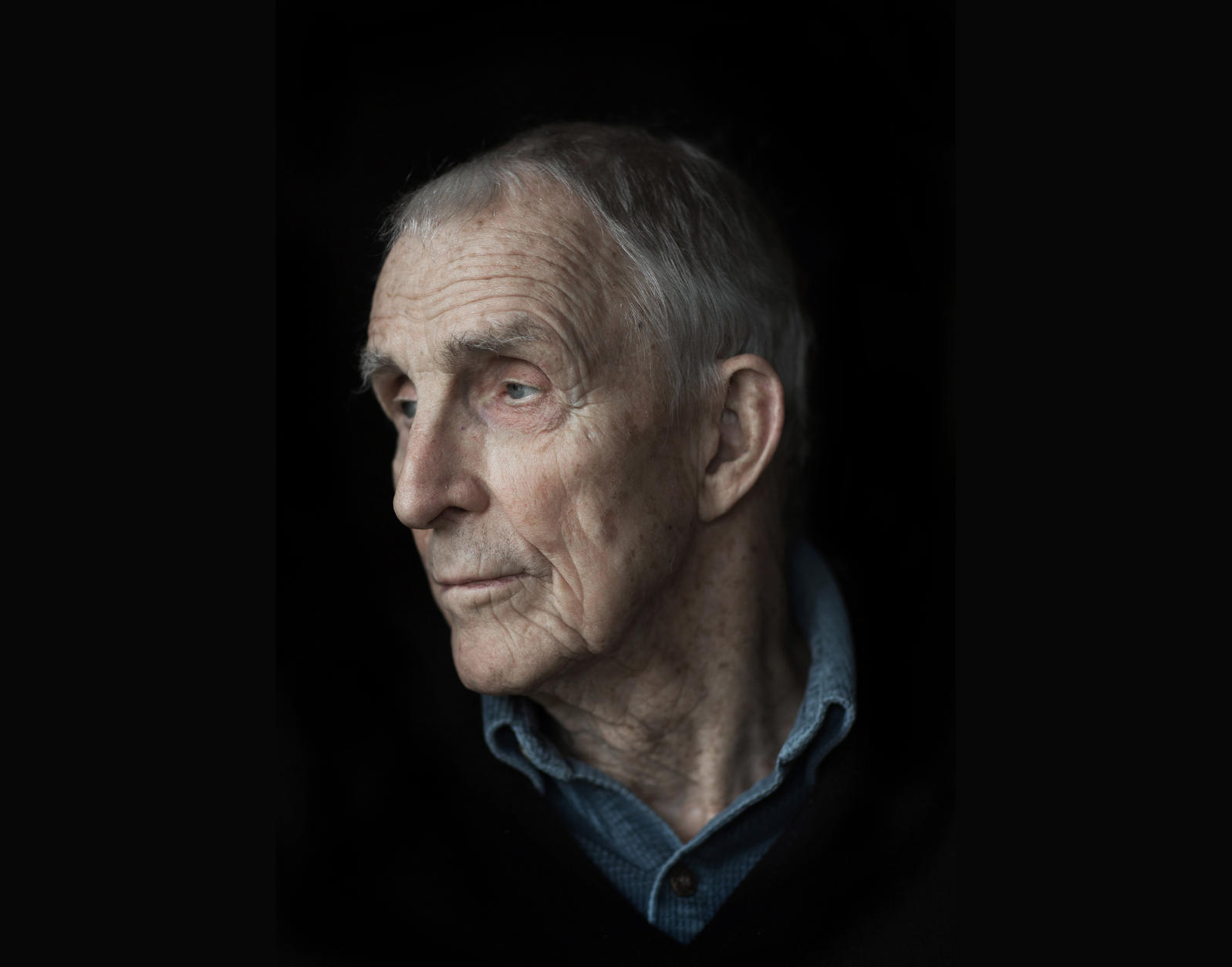 Author Peter Matthiessen at his home in Sagaponack, NY.  Photograph by Damon Winter/New York Times/Redux