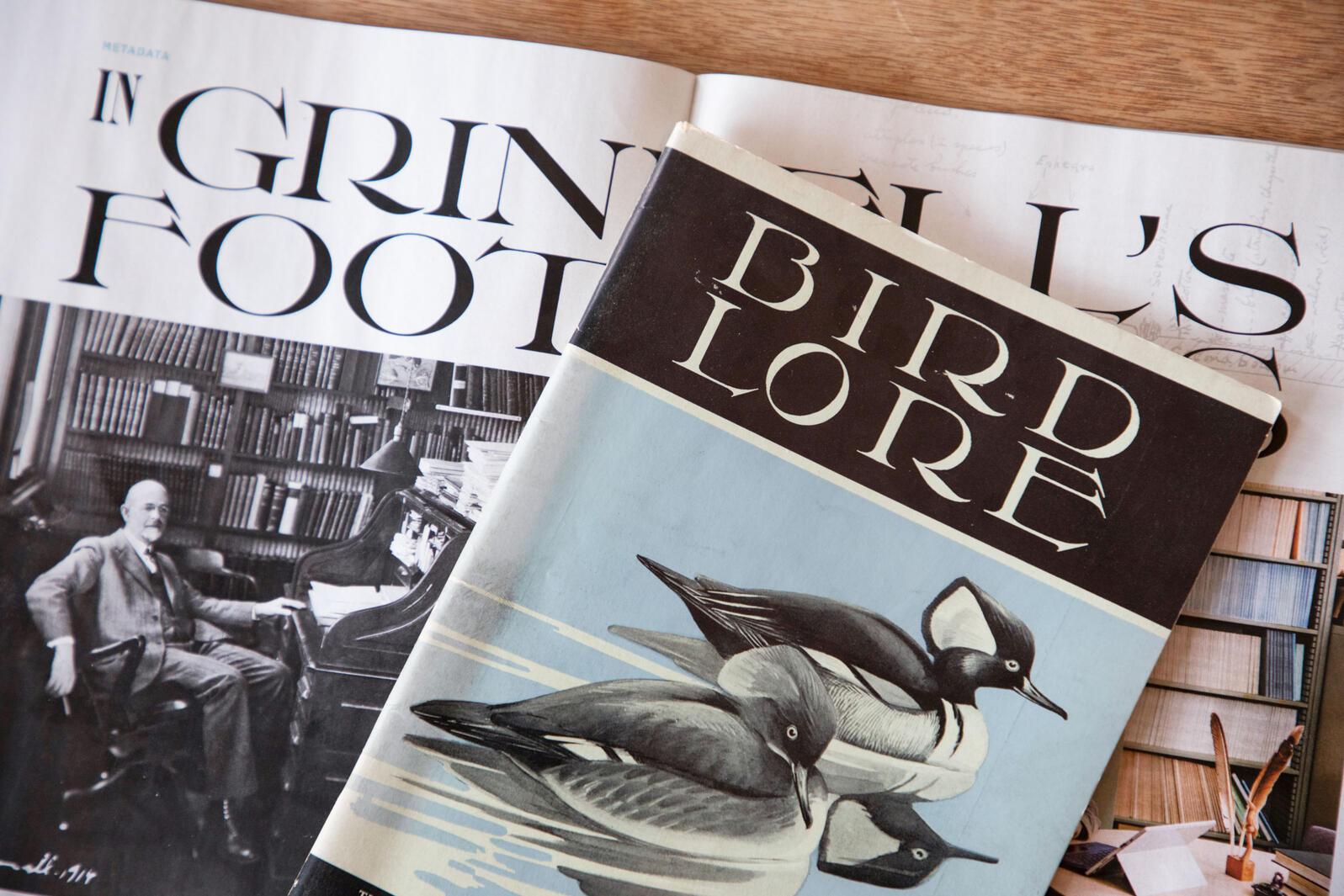 El último número de Audubon se inspira en el diseño del predecesor de la revista, Bird-Lore.