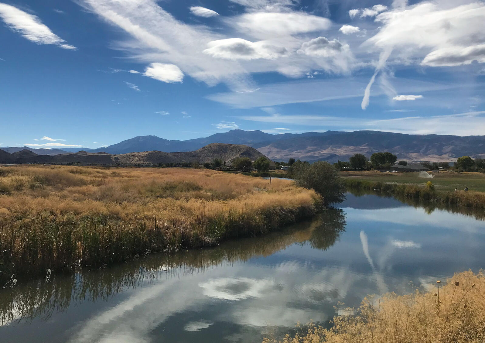 The former Rosewood Lakes Golf Course and future Truckee Meadows Nature Study Area. Courtesy of Truckee Meadows Parks Foundation