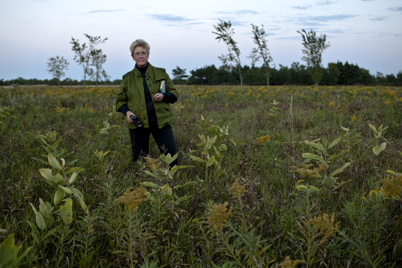 """Gail Miller knows she could easily sell her farm in New York, but because of how much it mattered to her father, she says, """"I just can't do that."""" Ben Stechschulte"""