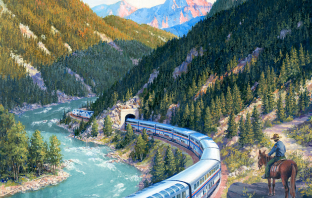 The Great Escape: Touring North America by Train