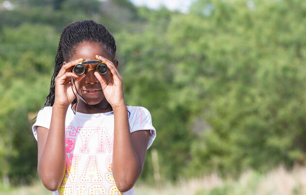 Easy Ways to Get Kids Birding