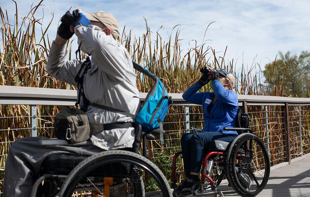 This New Program in Denver Is Paving the Way for Birders With Reduced Mobility