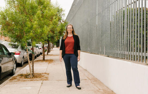 Rachel Malarich was appointed as the first-ever City Forest Officer of Los Angeles. Carmen Chan