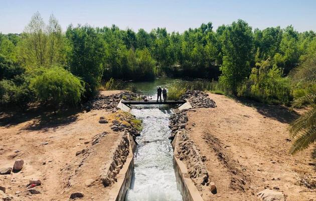 Delivery of water for the environment in the Colorado River Delta, May 3, 2021. Adrián Salcedo, Restauremos el Colorado