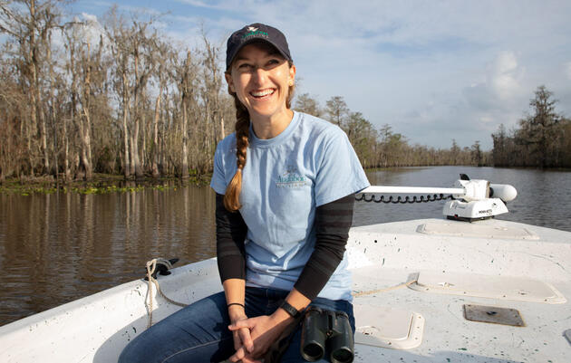 Audubon Spotlight: Katie Percy Is a Champion for Louisiana's Ecosystems