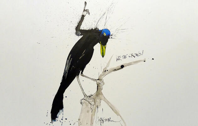 Reimagining the American Crow