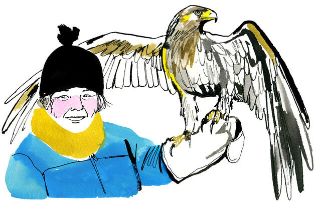 How Carol McIntyre Became a Rock Star Among Raptor Biologists