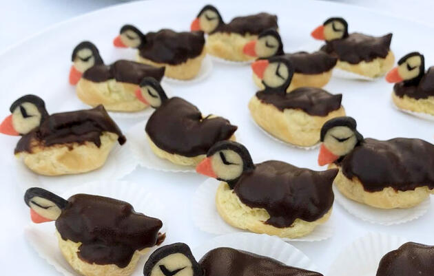 Meet the Cream Puffin, Your New Holiday Baking Challenge